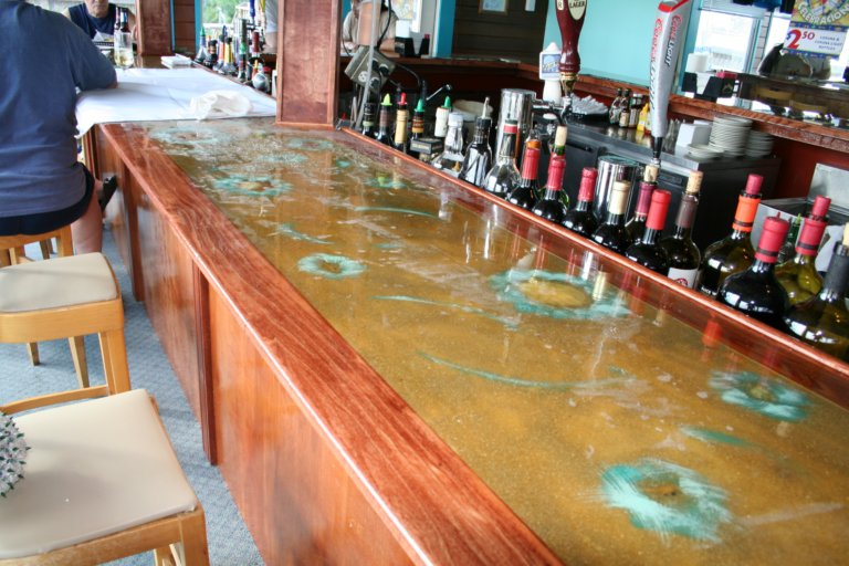 epoxy bar top resin
